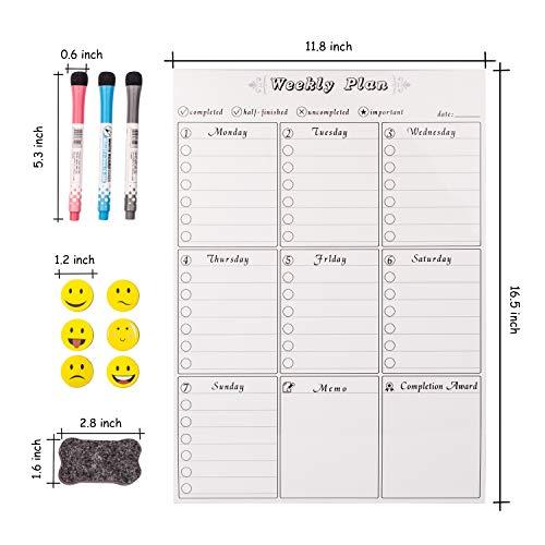Prefer Green Magnetic Dry Eraser Board, 17