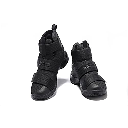 best loved ed695 ce595 chic Nike LeBron Soldier 10 Basketball Shoes Black Space ...