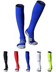 MAIBU Compressie Sokken Premium Lichtgewicht voor Voetbal Basketbal Hardlopen Fietsen Reizen Verpleging Atletische Sokken