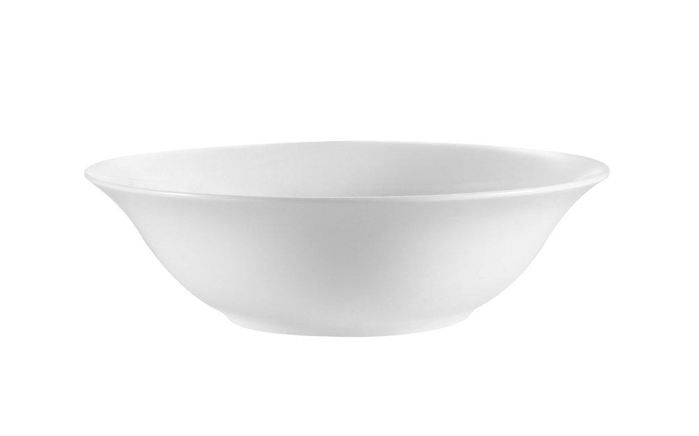 CAC China MAJ-VB9 9-Inch Majesty Bone China Salad Bowl, 36-Ounce, Box of 24