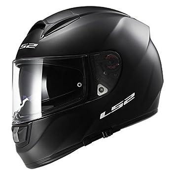 LS2 FF397 FT2 Bluetooth Listo (No Incluido) Doble Visera Casco de Moto de Cara