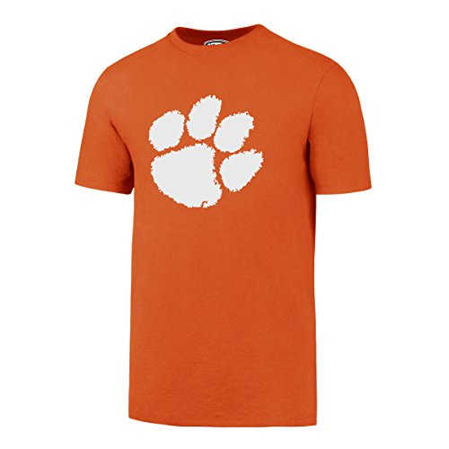 OTS NCAA Clemson Tigers Men's Rival Tee, X-Large, Orange