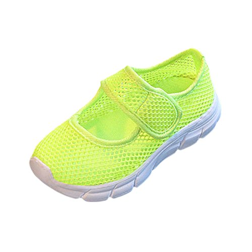 Baby Boy's Girl's Mesh Light Weight Sneakers Running Breathable Walking Shoes (Saddle Trail Mule)