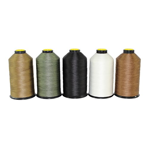 Bonded Nylon Thread #69 - SGT KNOTS - Milspec Thread - Military Grade Nylon Sewing Thread - for Leather Stitching, Canvas Repair, Gear Modification, Upholstery, More (8 oz. Spool - Foliage Green)