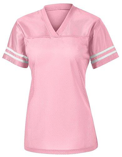 Sport-Tek Women's PosiCharge Replica Jersey 4XL Light Pink/ White