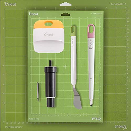 Cricut Tools Bundle - Mats, Stylus, Deep Point Blade Housing, Scraper & Spatula