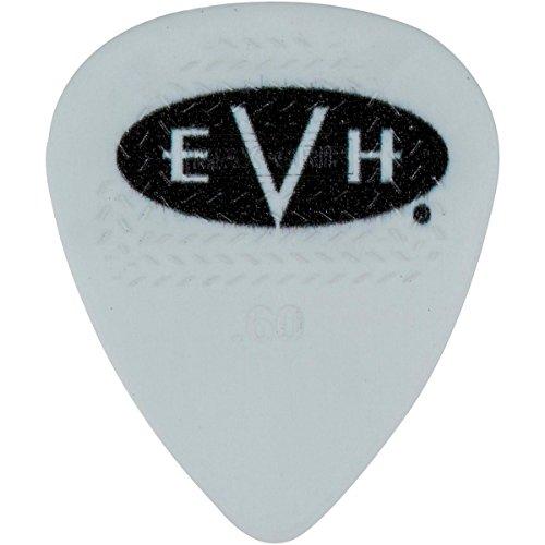 (EVH Signature Series Picks (6 Pack) 0.60 mm White/Black)