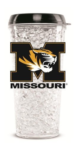 Missouri Tigers Crystal Freezer Travel Tumbler