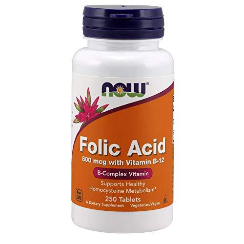 NOW Supplements Folic Acid