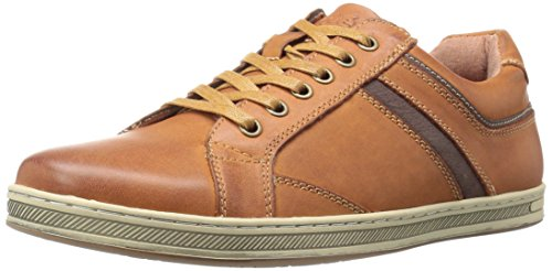 Leather Mesh Oxfords (Propet Men's Lucas Oxford, Brown, 12 M US)