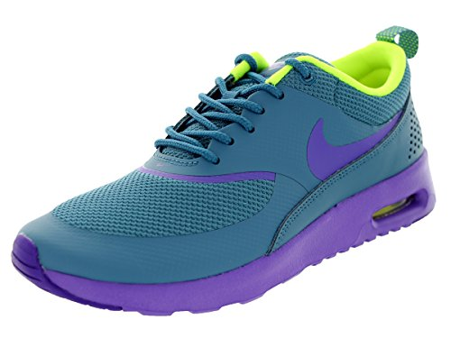 Nike Women's Air Max Thea Riftblue/Hyper Grape/Volt Running Shoe 8 Women US