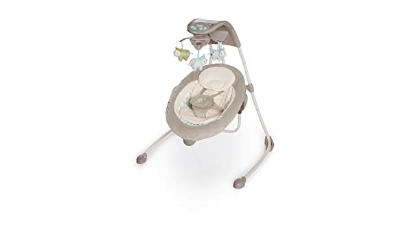 Bright Starts/Kids II 60107 Columpio alta Lusso Ingenuity inlighten cradling, multicolor: Amazon.es: Bebé