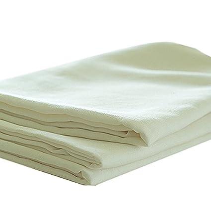 Linenme Drap en lin Blanc 180x275 cm