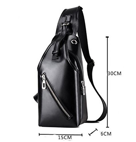 Casual Outdoor Waist Bag Bag Shoulder Bag Black Corset Messenger Shoulder Bag Handbags Men Sports qSFYZZ