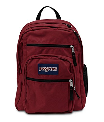 JanSport Big Student Back Bag (Viking Red) (Jansport Viking Red Backpack)