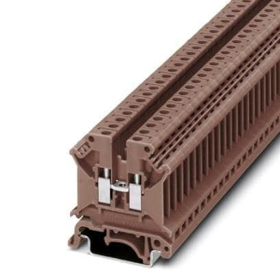DIN Rail Terminal Blocks UK 5 N BROWN (1 piece)