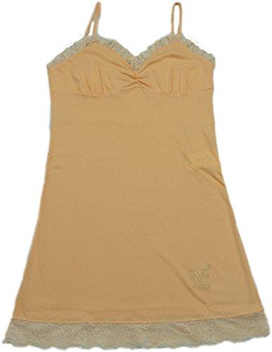 Versace 19.69 - Camisón 27-9181V para mujer, 100% algodón, sin mangas - talla L