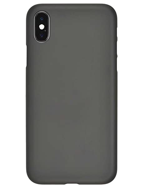 designer fashion 459aa add97 Amazon.com: Power Support Air Jacket for iPhone X - Rubber Black ...