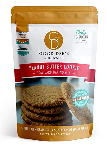 (Good Dee's Peanut Butter Cookie Mix - Low Carb, Gluten Free, and Grain)