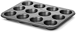 GRAN 12 Cup Nonstick Muffin and Cupcake Pan
