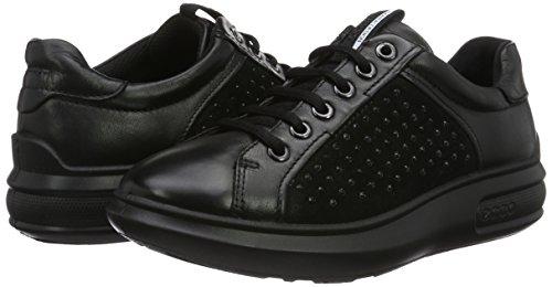Ginnastica Da Soft 3 Nero black Ecco Basse Donna black51052 Scarpe tIZtB