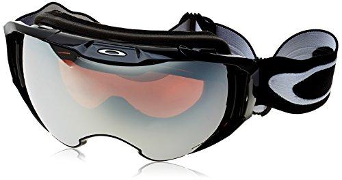 Oakley Men's Airbrake XL Snow Goggles, Jet Black, Prizm Jade Iridium, - Uk Goggles Oakley