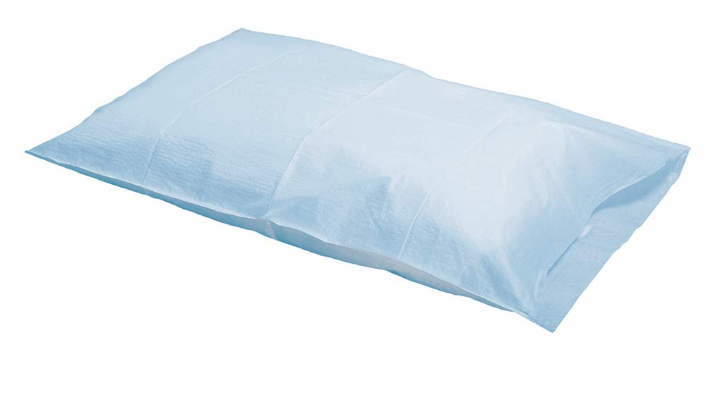 """Graham Medical 48766 Tissue/Poly Pillowcase, White, 21"""" Width, 30"""" Length (Pack of 100): Industrial & Scientific"""