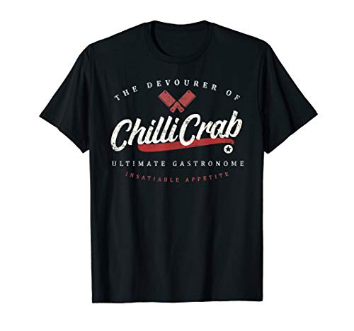 Chilli Crab Vintage Retro T-shirt