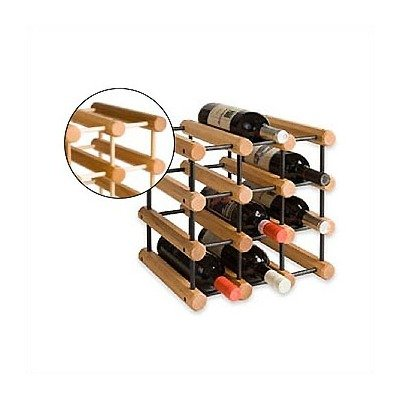 J.K. Adams Ash Wood Wine Rack