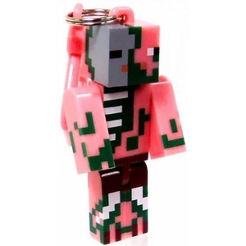 MINECRAFT Pink Pig Cerdo Rosa Llavero Adornos de Teléfono ...