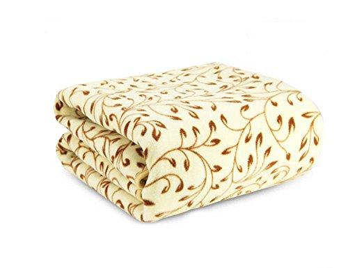 FidgetFidget Electric Heated Blanket 150x70cm 220V Cotton Wa