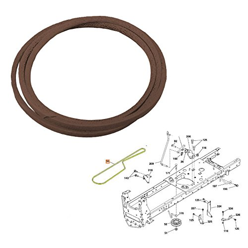 - Genuine OEM HUSQVARNA PARTS - V-Belt 532130969