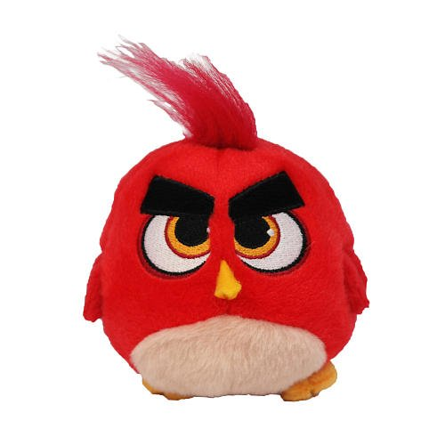 Angry Birds Movie Red Hatchling Plush, 5