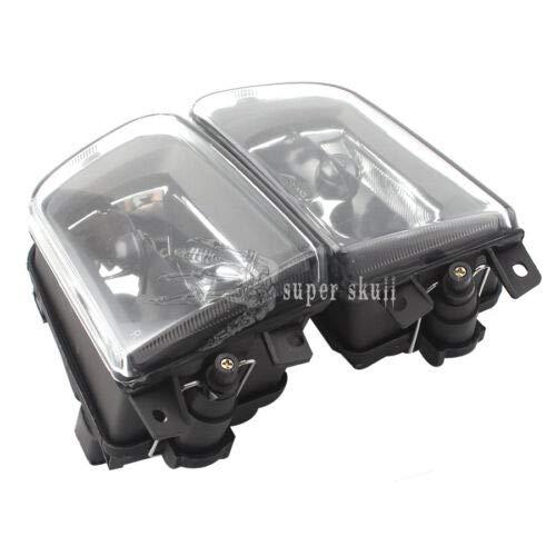 FidgetGear Paire de phares antibrouillard Avant pour BMW E39 528i 540i Z3 mod/èles /à partir de 1997