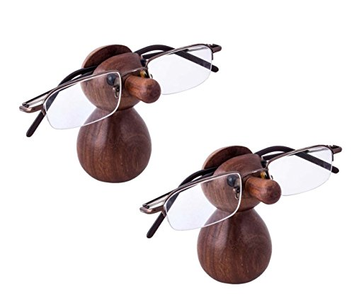 Craft Art India Handmade Doll Shaped Spectacle / Specs / Eyeglass/ Glass Holder /stand - 2 pcs - CAI-HD-0015-B-02 / - Spectacles Oval Shaped
