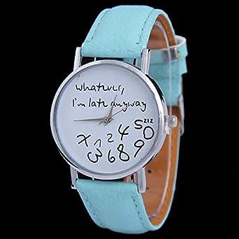 HZBIOK Reloj Mujer Relojes De Mujer Pulsera Casual Mujer Reloj ...