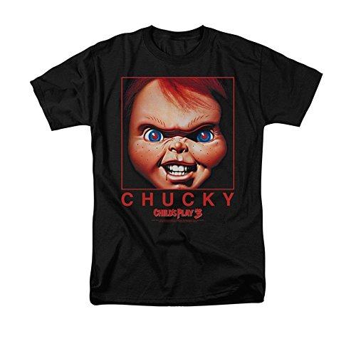 Sons of Gotham Childs Play Chucky Squared Adult Regular Fit T-Shirt -