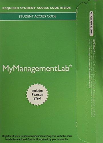 Fundamentals Of Mgmt. Mymanagementlab