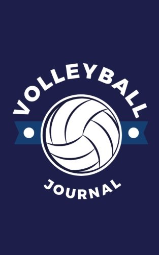 Volleyball Journal: Small Blank and Lined Journal for Volleyball Players, Gift for Volleyball Players, Keep Track of Matches, Schedules, Notes, Ideas