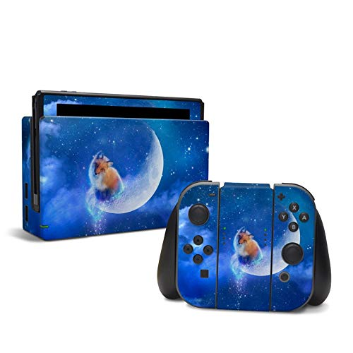 Moon Fox - Decal Sticker Wrap - Compatible with Nintendo Switch from DecalGirl