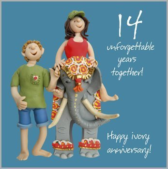 14th wedding anniversary images