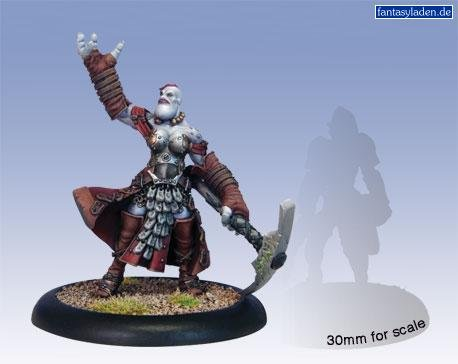 Privateer Press - Hordes - Trollblood: Janissa Stonetide Model Kit 3