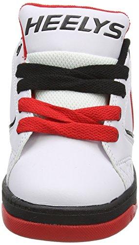 Heelys Jungen Propel 2.0 770599 Lauflernschuhe Sneakers White/Black/Red