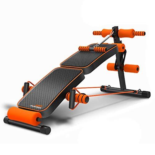 Mano Home Adjustable Sit up Bench Slant Board Pro Ab,Adjustable Workout Abdominal Exercise Multifunction Bench Board(Folding + Kicking)