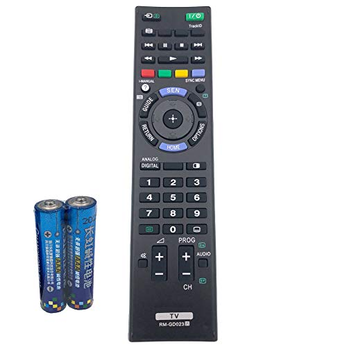 RM-GD023 TV Remote Control for Sony Bravia Television KDL-32EX550 by QINYUN