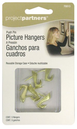(Project Partner 70013 Push Pin Picture Hangers)