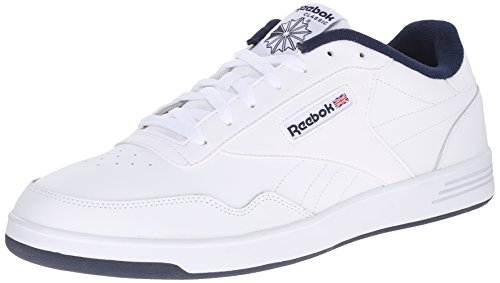 Reebok Men's Club MEMT Fashion Sneaker, White/Collegiate Navy, 10.5 4E US from Reebok