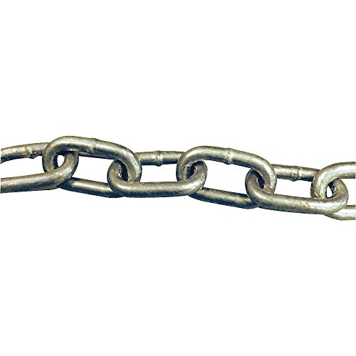 Laclede Chain - 1423-503-06 - 90 ft. Grade 43 Straight Chain, 5/16 Trade Size, 3900 lb. Working Load Limit, For Lifting: No by LACLEDE CHAIN