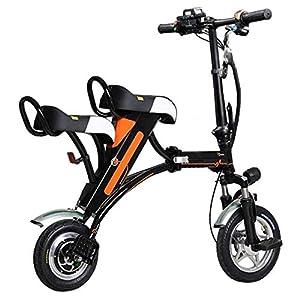 41BtW2RC7%2BL. SS300 RXRENXIA Pieghevole Bici Elettrica, Lega di Alluminio Telaio Leggero Pieghevole Città Bicicletta Batteria al Litio…