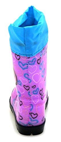 Disney Gummistiefel für Mädchen Lila